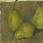 Three Pears, Paul Cezanne