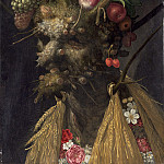 Four Seasons in One Head, Giuseppe Arcimboldo