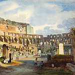 National Gallery of Art (Washington) - Ippolito Caffi - Interior of the Colosseum