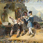 Peter Fendi - Fridolin with Two Workmen by the Eisenhammer, National Gallery of Art (Washington)