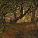 Frederik Sodring - View of Bregentved Forest, Sjaeeland, National Gallery of Art (Washington)