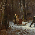 Eastman Johnson - On Their Way to Camp, National Gallery of Art (Washington)