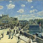 Auguste Renoir - Pont Neuf, Paris, National Gallery of Art (Washington)