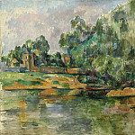 Riverbank, Paul Cezanne