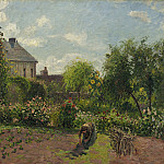 Camille Pissarro - The Artist's Garden at Eragny, National Gallery of Art (Washington)