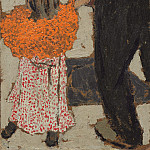Child Wearing a Red Scarf, Edouard Vuillard