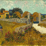 National Gallery of Art (Washington) - Vincent van Gogh - Farmhouse in Provence