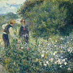 Auguste Renoir - Picking Flowers, National Gallery of Art (Washington)