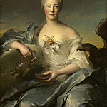 Jean-Marc Nattier - Madame Le Fevre de Caumartin as Hebe, National Gallery of Art (Washington)