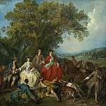 Nicolas Lancret - Picnic after the Hunt, National Gallery of Art (Washington)