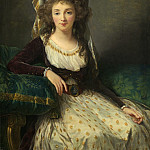 Elisabeth-Louise Vigee Le Brun – Madame d'Aguesseau de Fresnes, National Gallery of Art (Washington)