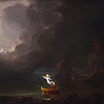 Thomas Cole - The Voyage of Life: Old Age, National Gallery of Art (Washington)