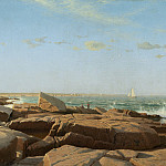 William Stanley Haseltine - Narragansett Bay, National Gallery of Art (Washington)