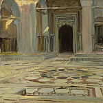 John Singer Sargent - Pavement, Cairo, National Gallery of Art (Washington)