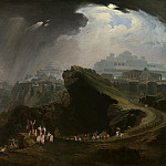 National Gallery of Art (Washington) - John Martin - Joshua Commanding the Sun to Stand Still upon Gibeon