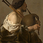 National Gallery of Art (Washington) - Hendrick ter Brugghen - Bagpipe Player
