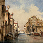 National Gallery of Art (Washington) - Jules-Romain Joyant - The Scuola di San Marco, Venice