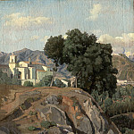 Felix-Hippolyte Lanoue – View of La Cava, National Gallery of Art (Washington)
