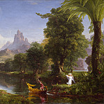 Thomas Cole - The Voyage of Life: Youth, National Gallery of Art (Washington)