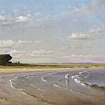 National Gallery of Art (Washington) - Worthington Whittredge - Second Beach, Newport