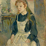 Berthe Morisot - Young Girl with an Apron, National Gallery of Art (Washington)