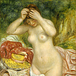 Auguste Renoir - Bather Arranging Her Hair, National Gallery of Art (Washington)