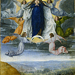 Michel Sittow - The Assumption of the Virgin, National Gallery of Art (Washington)