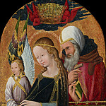 French 15th Century - The Expectant Madonna with Saint Joseph, National Gallery of Art (Washington)