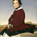 Charles David - Portrait of a Young Horsewoman, National Gallery of Art (Washington)