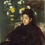 Edgar Degas - Mademoiselle Malo, National Gallery of Art (Washington)