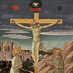 Pesellino – The Crucifixion with Saint Jerome and Saint Francis, National Gallery of Art (Washington)