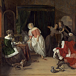 National Gallery of Art (Washington) - Gabriel Metsu - The Intruder