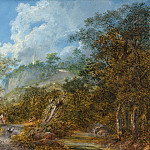 National Gallery of Art (Washington) - Salomon Gessner - Arcadian Landscape with an Obelisk