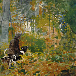 On the Trail, Winslow Homer