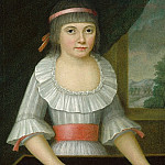 American 18th Century - The Domino Girl, National Gallery of Art (Washington)