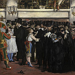 Edouard Manet - Masked Ball at the Opera, National Gallery of Art (Washington)