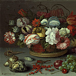 Balthasar van der Ast - Basket of Flowers, National Gallery of Art (Washington)