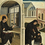 French 15th Century - A Miracle of Saint Benedict, National Gallery of Art (Washington)