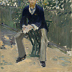 Edouard Manet - George Moore in the Artist's Garden, National Gallery of Art (Washington)