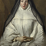 Nicolas de Largillierre - Elizabeth Throckmorton, Canoness of the Order of the Dames Augustines Anglaises, National Gallery of Art (Washington)