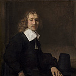 Rembrandt van Rijn - A Young Man Seated at a Table, National Gallery of Art (Washington)