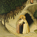National Gallery of Art (Washington) - Master of the Osservanza (Sano di Pietro?) - The Meeting of Saint Anthony and Saint Paul