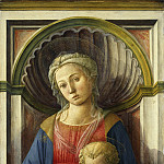 Fra Filippo Lippi – Madonna and Child, National Gallery of Art (Washington)