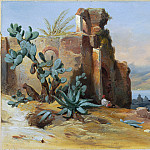 Jean-Charles-Joseph Remond – Ancient Ruins near Messina, Sicily, National Gallery of Art (Washington)