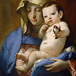 Giovanni Battista Tiepolo - Madonna of the Goldfinch, National Gallery of Art (Washington)