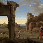 National Gallery of Art (Washington) - Cornelis van Poelenburch - The Prophet Elijah and the Widow of Zarephath