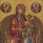 Byzantine 13th Century – Madonna and Child on a Curved Throne, National Gallery of Art (Washington)