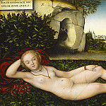 Lucas Cranach the Elder - The Nymph of the Spring, National Gallery of Art (Washington)