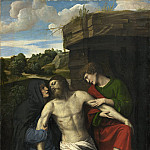 Moretto da Brescia - Pieta, National Gallery of Art (Washington)