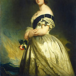 Studio of Franz Xaver Winterhalter - Queen Victoria, National Gallery of Art (Washington)